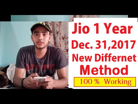 How to Get Jio  1 Year Unlimited Plan | New Different method |Don't Worry 100% Working