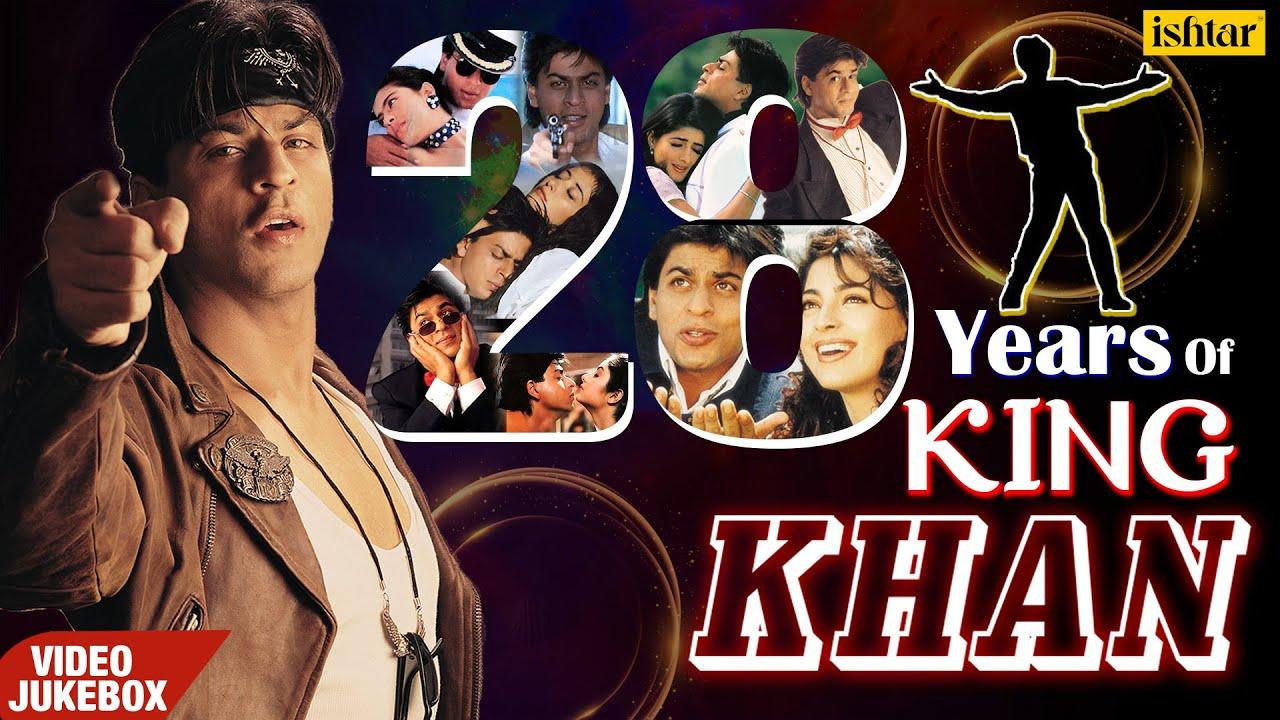 Download Best Of Shah Rukh Khan | VIDEO JUKEBOX | 28 Years of King Khan | Superhit Songs Of SRK | 90's Songs