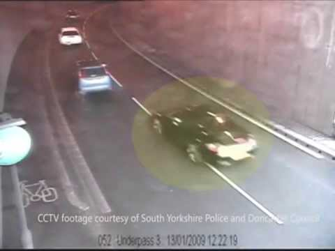 City of London Police - Crash for Cash CCTV footage