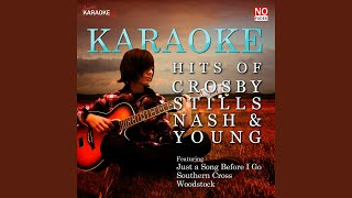 Woodstock (in the style of crosby, stills, nash and young) (karaoke version)