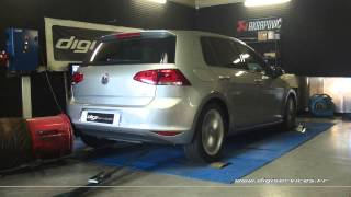 Reprogrammation Moteur VW Golf 7 1.6 tdi 105cv DSG @ 149cv Digiservices Paris 77 Dyno