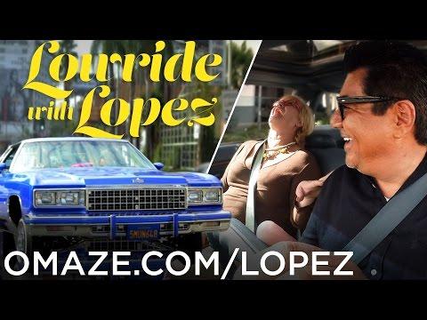 George Lopez Undercover Lowriding Lyft Prank! // Omaze