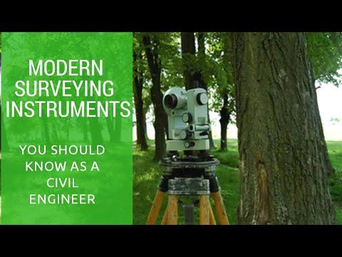 Modern surveying instruments. (EDM,Total station,GPS...etc)