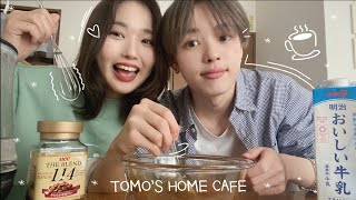 eng)A Wholesome Vlog in Japan (Dalgona coffee / Mukbang / Staying at home / A whole day's vlog )