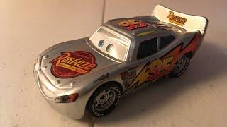 McQueen Monday: Silver Lightning McQueen diecast review