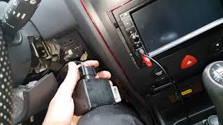 Renault Megane steering column not free