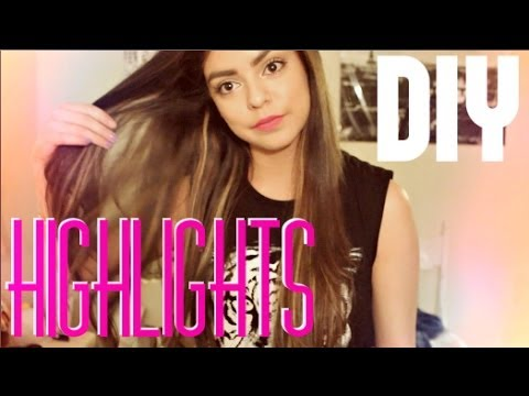Diy easy highlights jessfashion101 youtube solutioingenieria Image collections