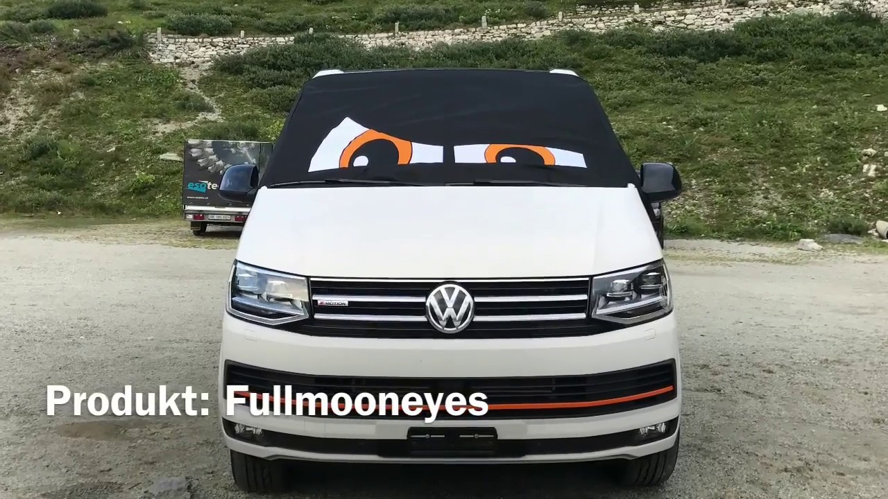 vw t6 california fahrerhaus verdunkelung youtube. Black Bedroom Furniture Sets. Home Design Ideas