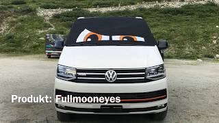 VW T6 California - Fahrerhaus  Verdunkelung
