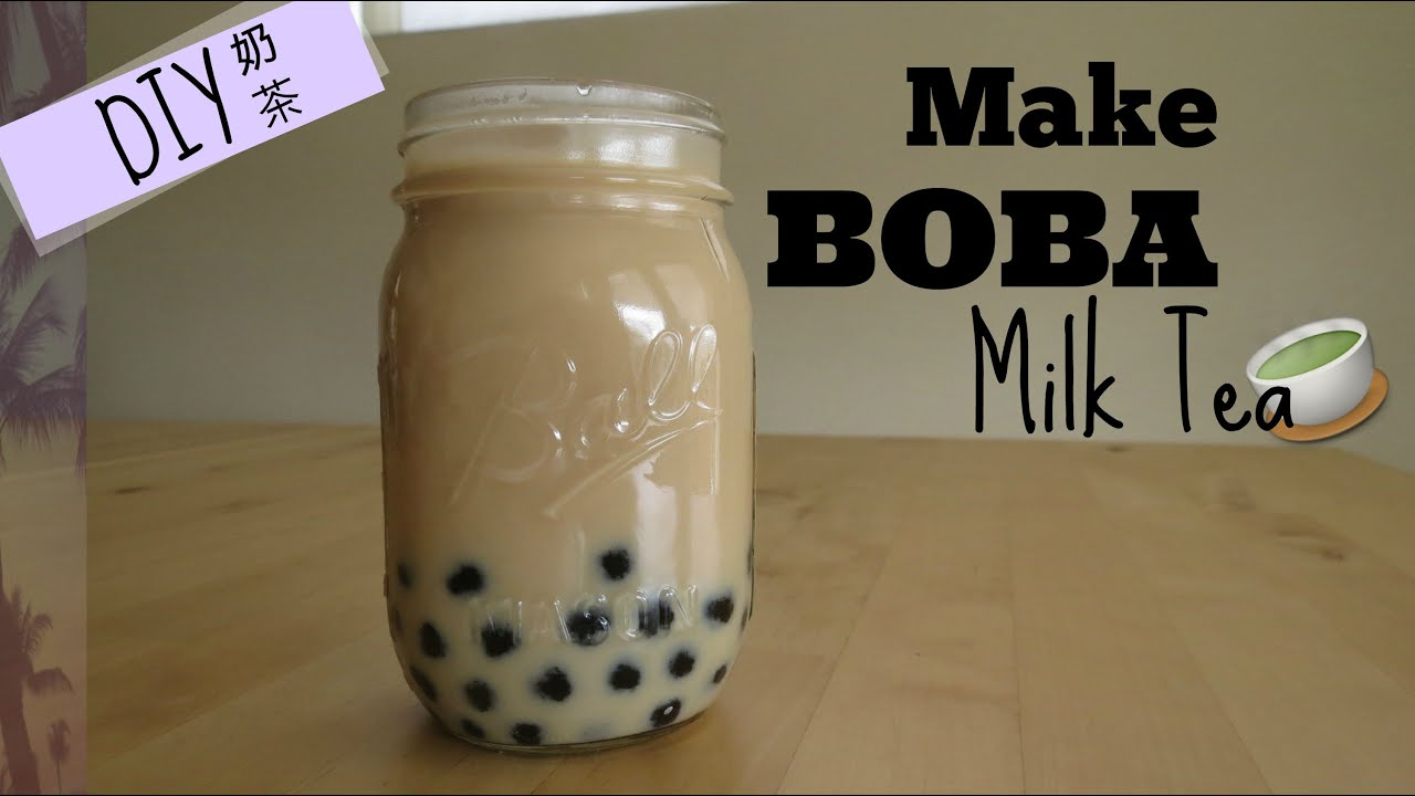 How to correctly add milk to your tea youtube - Diy How To Make Boba Milk Tea Fast And Easy Bubble Milk Tea Youtube