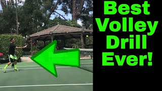 Tennis Volley Technique | Best Volley Drill Ever