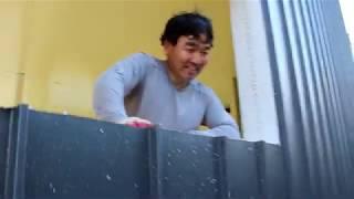 셀프사무실 만들기 #12  후레싱, 창문 및 캐노피 만…