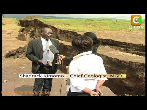 Panic as Fault lines Form in Longonot
