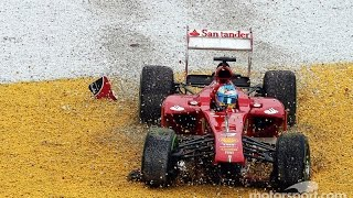 Fernando Alonso F1 All Crashes and Fails