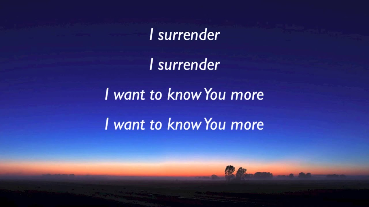 God, Help Me To Surrender My Life More to You! (Prayer Journal 21)