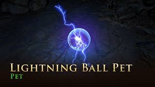 Path of Exile: Lightning Ball Pet