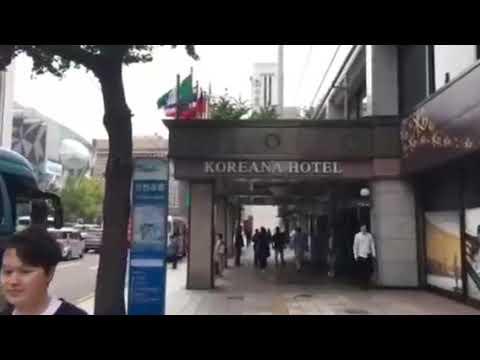 Koreana Hotel Barber Shop 코리아나호텔 바버샵