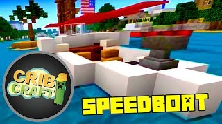 Minecraft Xbox 360 Speed Boat Tutorial- How To Build A Boat In Minecraft
