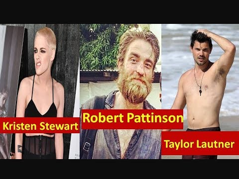 Twilight Stars then and now 2017 | Kristen Stewart and Robert Pattinson , Taylor Lautner