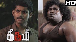 Kirumi Tamil Movie | Scenes | Charle Explains Kathir about Policemen Cold War | Kathir | Yogi babu