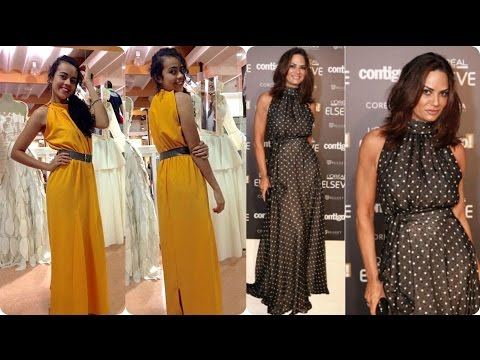 Como Costurar Vestido Longo Gola Alta Role Alana Santos
