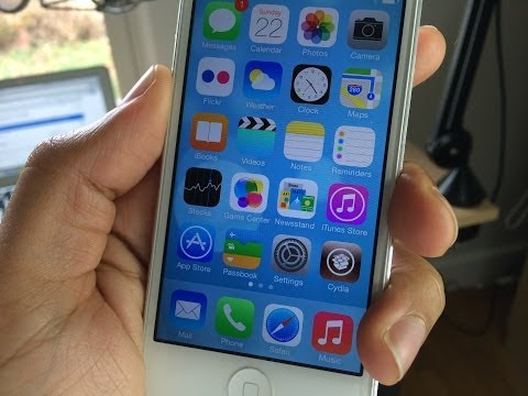 How to jailbreak iOS 7 with Evasi0n7!
