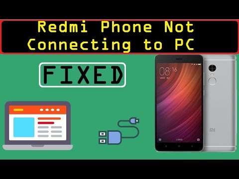 Connect any Xiaomi redmi phone to PC & transfer files ! Solution.