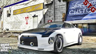 2019 FORD MUSTANG  LET'S GO TO CLASS!!!   (GTA 5 REAL LIFE MODS)