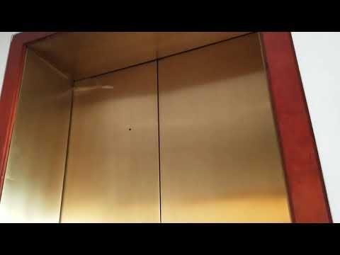 Old Schindler/Montgomery Hydraulic Elevator At @Cobb Galleria Convention Center Atlanta GA.