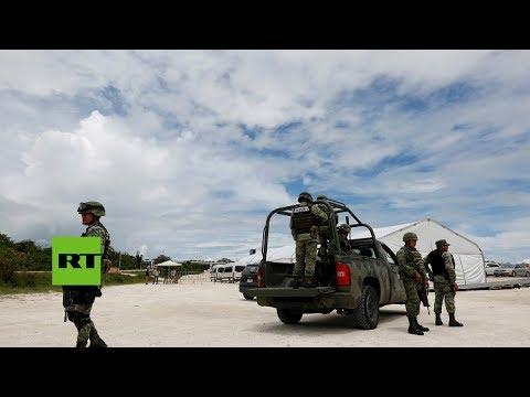 Choques en México: la Policía impide el ingreso de padres de normalistas a la OEA