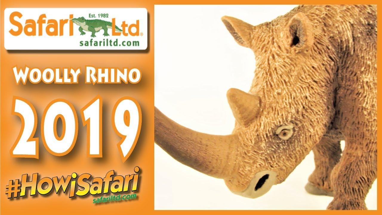 Safari Ltd  2019 Woolly Rhino || #HowiSafari NEW Prehistoric Mammal Review!