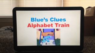 Repeat youtube video Blue's Clues Alphabet Train Song