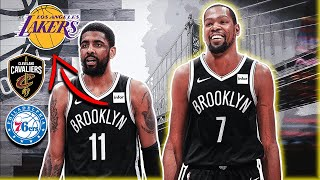 I Traded Everyone On The Brooklyn Nets Except Kevin Durant (And This Is What Happened)