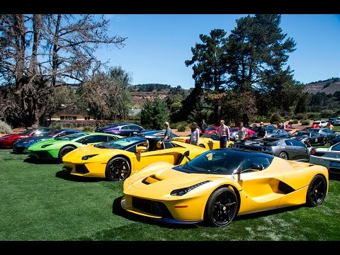 Monterey Car Week Highlights By Fast Toys Club YouTube - Monterey car show