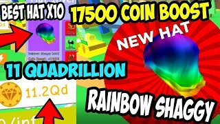 UPDATE 11.5 IN MAGNET SIMULATOR! GOT THE BEST HATS! 11 Qd REBIRTH TOKENS! | Roblox Gameplay