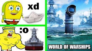 De Barquito de Papel a Buque NAVAL! ⚓ World of Warships