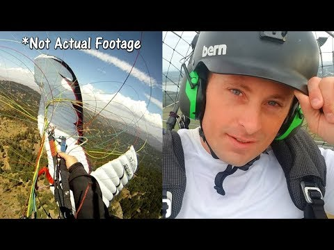 Why Did Grant Thompson's Paraglider Collapse?