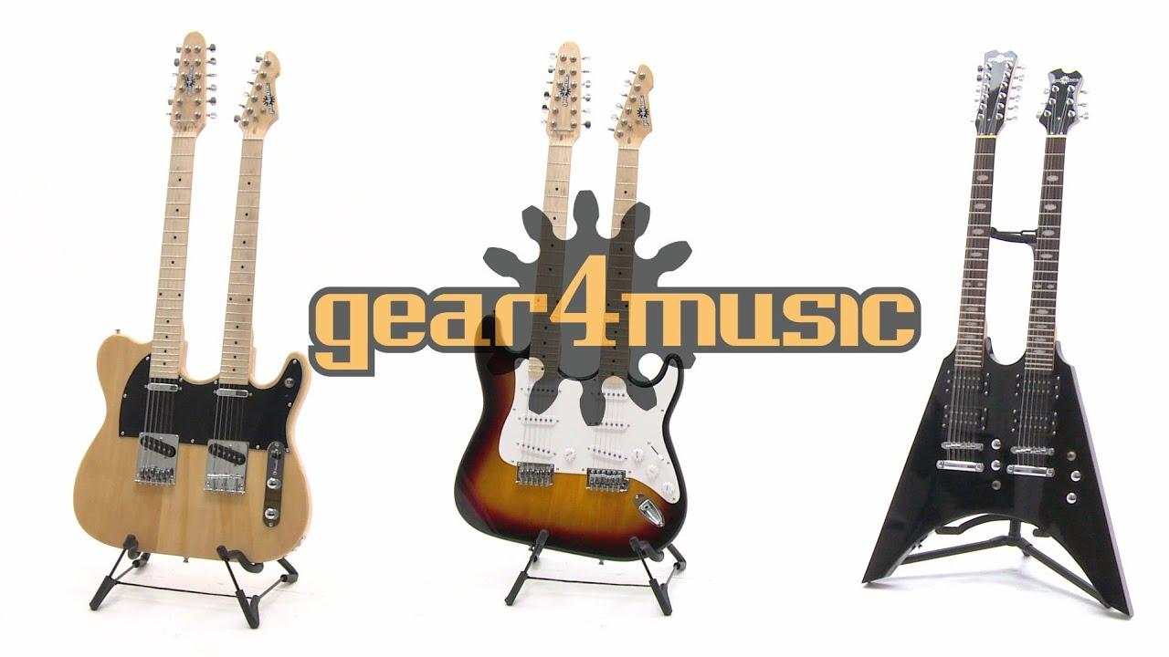 Gear4music Double Neck Guitars