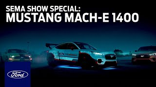 homepage tile video photo for Ford Auto Nights: SEMA Show Special - Mustang Mach-E 1400 | Ford