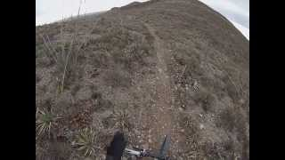 Mountain Biking El Paso Texas State Park TMU Lower Sunset Trail