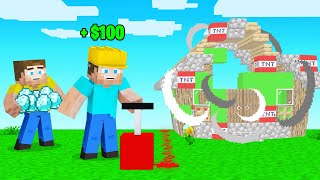 Getting PAID To BLOW STUFF UP In Minecraft!