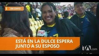 Carlos Gruezo y su familia fueron al estadio - En Corto