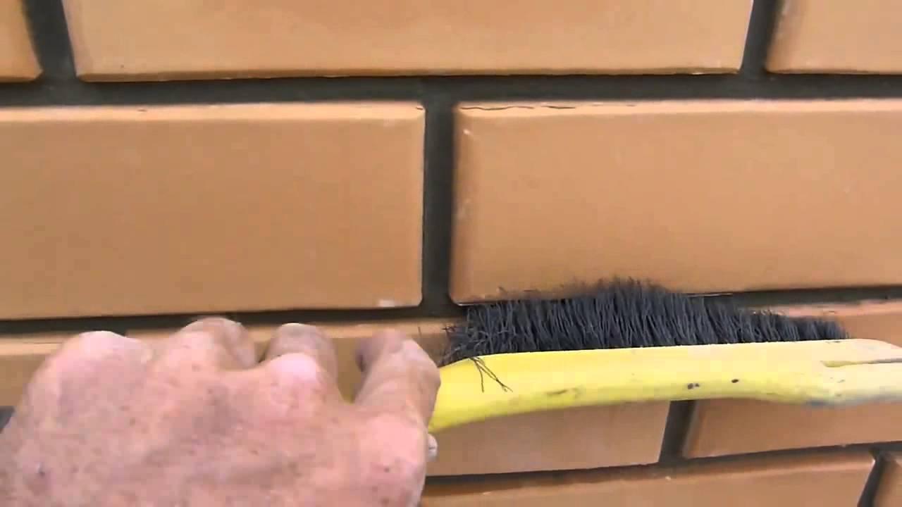 Расшивка кирпичной кладки своими руками