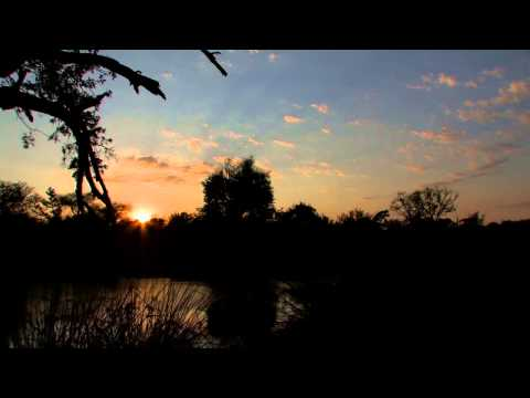Sky Time Lapse HD - African Sunrise and Sounds of the African Bush