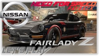Neues stillgelegtes Auto Vamos Nissan Fairlady 240ZG 25.09.2018 🚘 Need for Speed Payback