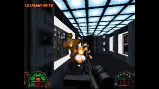 Star Wars Dark Forces (PC DOS) - level 1 - Secret Base (100% Secrets)