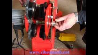 видео Таль электрическая (тельфер) г/п 20,0 т Н=30 м