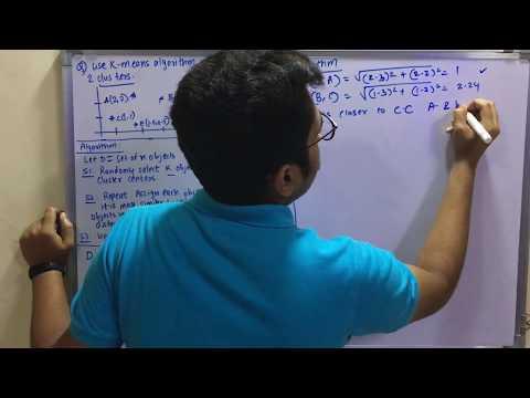 Data Mining & Business Intelligence | Tutorial #23 | Kmeans Algorithm (Solved Problem)