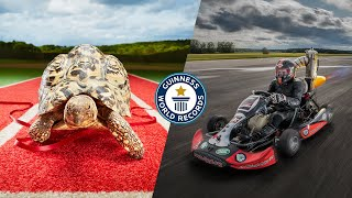 DANG THAT'S FAST!  Guinness World Records