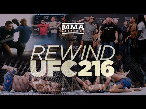 UFC 216 Rewind: Tony Ferguson, Demetrious Johnson Pick Up Big Title Wins - MMA Fighting